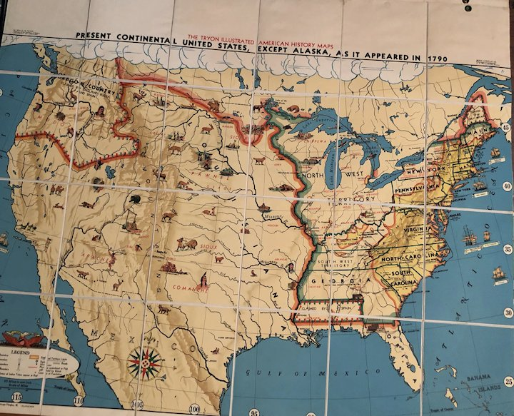 12 of The Tryon Illustrated American History Maps, in a Boxed Set, Inche In Continental Us Map on arctic us map, continental usa, indian us map, national us map, usa map, continental shelf map, us continent map, european us map, interactive us state map, baseball us map, malaria in the us map, mid south us map, us metropolitan map, british us map, united states map, hudson us map, georgia map, mexico map, chinese us map, irish us map,