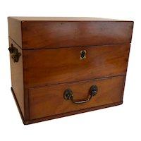Mahogany Medical/Medicine Chest Box