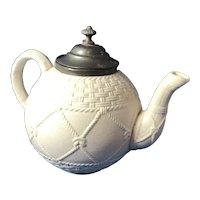 English Stoneware Tea Pot 1868
