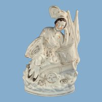 A Soldiers Dream, Staffordshire 10 inch Flat Back Figurine