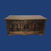 George VI Commemorative Oak Desk Top Writing Box