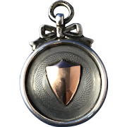English Hall-Marked Sterling Silver Fob  C.1929