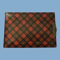 Scottish Tartanware Photo Album, Stuart Clan, C. 1883-1884