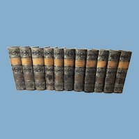 The Waverley Novels: The Works of Sir Walter Scott, 11 Volumes, 1862