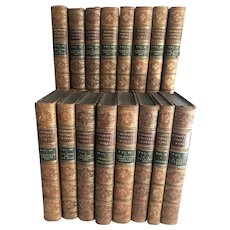 16 Volumes of the Works of Robert Browning, 1889