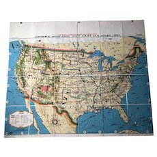 Tryon Illustrated American History Map: Continental United States
