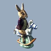 "Royal  Dalton Figurine BunnyKins ""Tally Ho"""