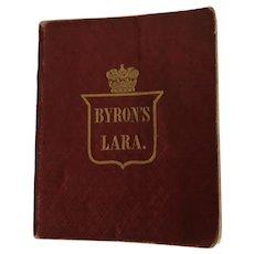 Lord Byron's Lara Miniature Book