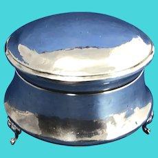 1912 Chester England. Sterling Silver Dresser Box