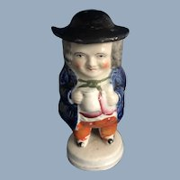 English Toby Character Mustard Pot