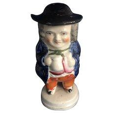 English Toby Character Mustard Pot