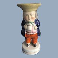 Toby Salt Condiment Figurine. C.1840