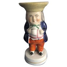 Toby Salt Condiment Figurine. C.1840