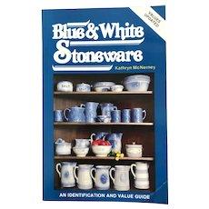 Blue & White Stoneware