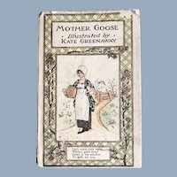 Mother Goose, Kate Greenaway, Illustrated Hardback