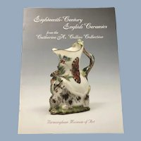 Collection of Eighteenth-Century English Ceramics from Catherine H. Collins