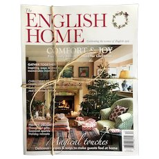 Collection of 4 Editions of The English Home Magazine