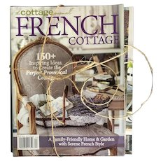 Collection of 4 French Country & Design Magazines
