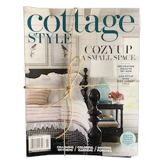Collection of 4 Cottage Style and 1 Country Cottage Magazines