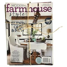 Collection of 4 Country and Farmhouse Style Magazines