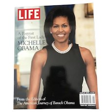 A Portrait of the First Lady: Michelle Obama, The Editors of Life