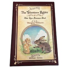 The Velveteen Rabbit by Margery Williams, 1981