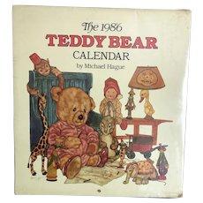 The 1986 Teddy Bear Calendar by Michael Hague