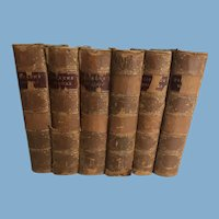 6 Volumes of the Works of Charles Dickens