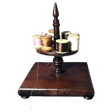 Wooden Sewing Thread Spool Holder