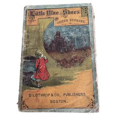 Little Blue Shoes and Other Stories, Laurie Loring, 1878