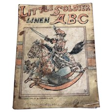 Little Solder ABC, Linen, 1911