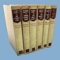 The Second World War by Winston S. Churchill, 6 Volume Set