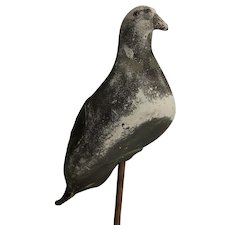 Full Body Rubber Pigeon Hunting Decoy & Peg