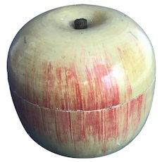Early Wooden Apple: Tea for Two an an Apple too