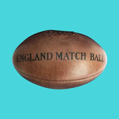 Leather Rugby Football