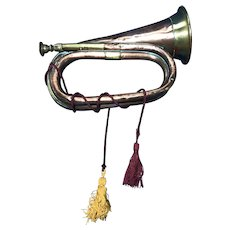 Church Lads' Brigade Copper Brass Bugle, 1913