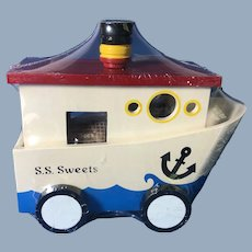 See's Candies Vintage Boat Collectible Toy