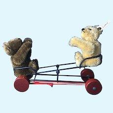 Steiff 'Wigwag' Bear Pull Toy