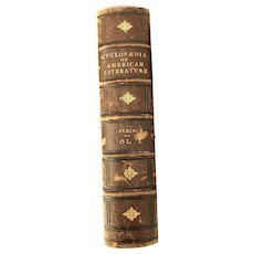 Cyclopaedia of American Literature, Vol. 1