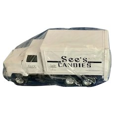 Vintage ERTL See's Candies Toy Delivery Truck 1997