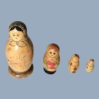 Russian Matryoshka Hand-Painted Nesting Stacking Dolls