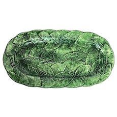 Dark Green Italian Serving Tray