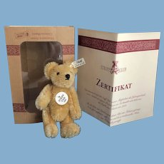 1997 Miniature Steiff Club Bear