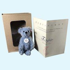 Blue Steiff Club Bear 2004