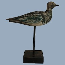 Wooden Sea Bird on Stand