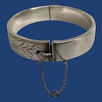 1866 English Sterling Silver Bracelet