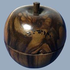 Olive Wood Apple