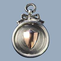 C.1929.  English Watch Fob Award Medal