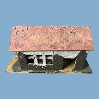 Vintage English Handcrafted Stucco Cottage