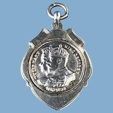 1910-1933 King Georgia and Queen Mary Fob/Medal